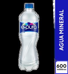 Agua E-Pura Mineral 600 ml