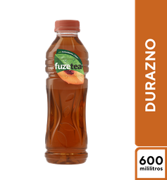 Fuze Tea Negro Durazno 600 ml