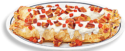 Chicken, Bacon & White Cheddar Crepes