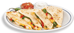Chicken & Three-Chesse Quesadilla