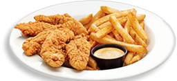 Crispy Chicken Strips & Fries
