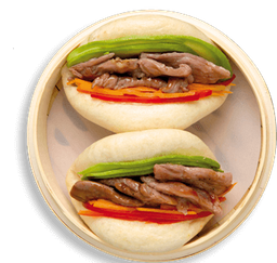 Gua Bao Arrachera