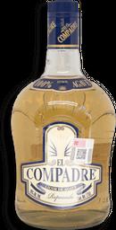 Destilado de Agave El Compadre Reposado 750 mL
