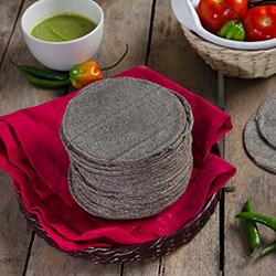 Tortilla Taquera De Maiz Azul