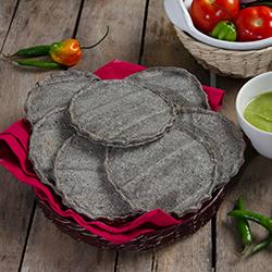 Sopes De Maiz Azul Charola