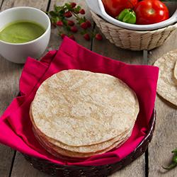 Tortilla De Harina Integral