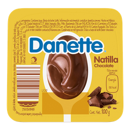 Natilla Danette Chocolate 100G
