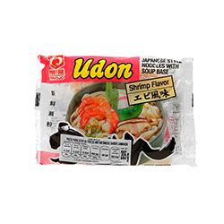 Fideos Instantanea Myojo Udon Sabor Camarón 205 g
