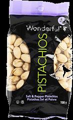 Pistaches Wonderful Con Sal y Pimienta 200 g