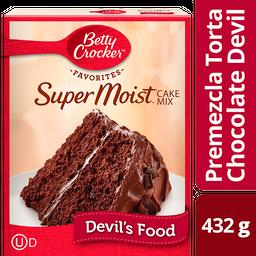 Harina Betty Crocker Chocolate Oscuro Para Pastel 432 g