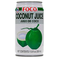 Bebida Foco Jugo de Coco Lata 350 mL