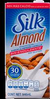 Leche de Almendras Silk Almond Vainilla Sin Endulzante 946 mL