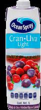 Jugo Ocean Spray Light Arándano Y Uva 1 L