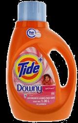 Detergente Líquido Tide con Downy Plus 1.47 L