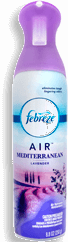 Aromatizante Febreze Air Mediterranean Lavander 250 g