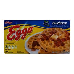 Waffles Eggo Blueberry 10 U