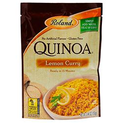 Quinoa Roland Curry Limón 155 g