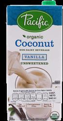 Bebida de Coco Pacific Orgánica Sabor Vainilla sin Azúcar 907 mL