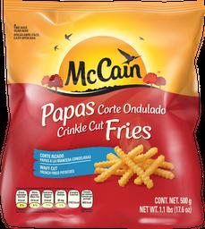 Papas a La Francesa McCain Congeladas Cut Fries 500 g