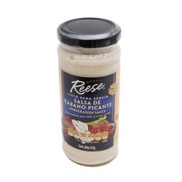 Salsa Reese Rábano Picante 212 g