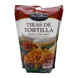 Tiras de Tortillas Mrs. Cubbison's Estilo Tex-Mex 80 g