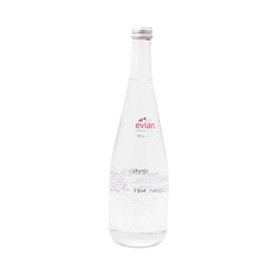 Agua Natural Evian Glass 750 mL