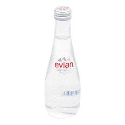 Agua Evian Glass 330 mL