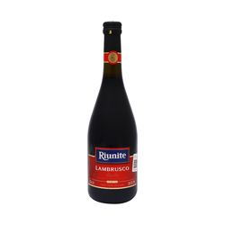 Vino Tinto Lambrusco Italiano Botella 750 mL