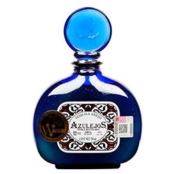 Tequila Anejo Azul Los Azulejos 750 mL