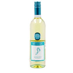 Vino Blanco Barefoot Moscato Botella 750 mL
