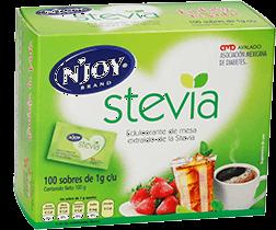 Sustituto de Azúcar NJoy Stevia 100 g