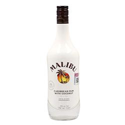 Licor de Coco Malibu Con Ron Blanco Botella 750 mL