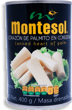 Palmitos Montesol Enteros en Salmuera 400 g