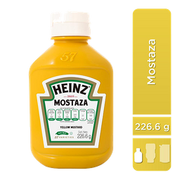 Mostaza Heinz Amarilla 226.6 g