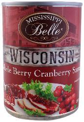 Salsa de Arándanos Mississippi Belle Wisconsin 397 g
