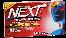 Next Tabs 20 Tabletas (500 mg/25 mg/5 mg/4 mg)