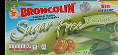 Caramelo Broncolin Eucalipto Sin Azucar 35 g