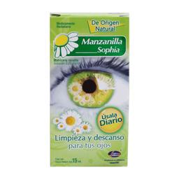Solución Oftálmica Manzanilla Sophia 15 mL