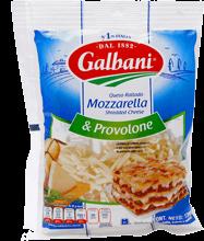 Queso Mozzarella y Provolone Galbani Rallado 170 g