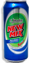 Bebida Preparada New Mix Paloma 473 mL