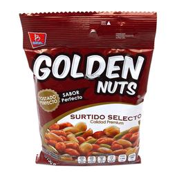 Botana Golden Nuts Cacahuate Surtido Selecto 190 g