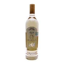 Tequila Reposado3 Caballosmas Botella De 250 Ml 1 L