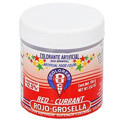 Color Rojo Grosella