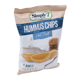 Botana Simply 7 Hummus Chip Sea Salt 141 g