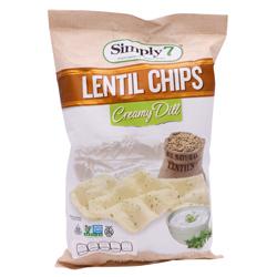 Chips De Lenteja Creamy Dill