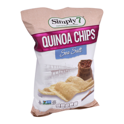 Botana Simply 7 Quinoa Chips Sal de Mar 99 g