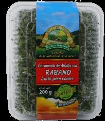 Germinado de Alfalfa San Francisco Con Rabano 200 g