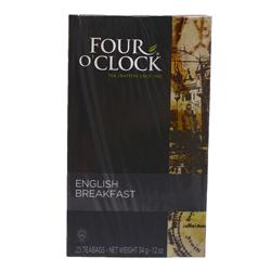 Té Negro Four O'clock English Breakfast 20 U