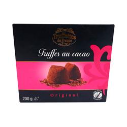 Trufa Truffetes De France Sabor Chocolate Original 200 g
