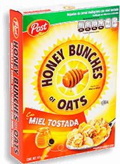 Cereal Honey Bunches of Oats con Miel Tostada 411 g